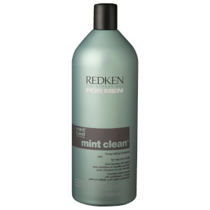 Redken for Men Mint Clean Invigorating Shampoo 33.8oz
