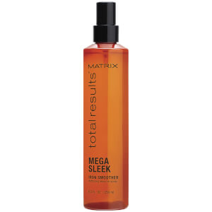 Matrix Total Results Mega Sleek Iron Smoother Defrizzing Leave-In Spray 8.5oz