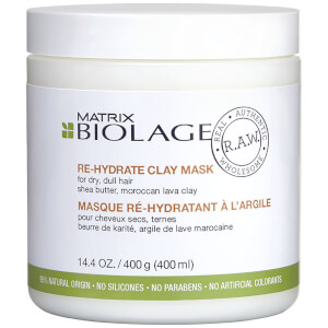 Matrix Biolage R.A.W. Re-Hydrate Clay Mask 16.9oz