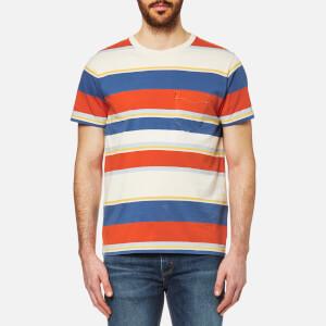 Levi's Orange Tab Men's Pocket T-Shirt - Stripe
