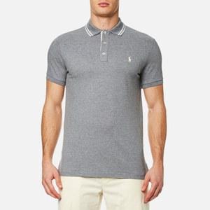 Polo Ralph Lauren Men's Custom Fit Tipped Polo Shirt - Vesper Grey