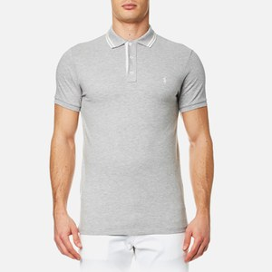 Polo Ralph Lauren Men's Custom Fit Tipped Polo Shirt - Spring Heather