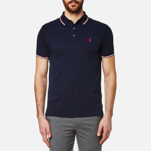 Polo Ralph Lauren Men's Tipped Polo Shirt - Navy