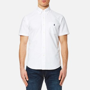 Polo Ralph Lauren Men's Short Sleeve Shirt - White