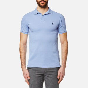 Polo Ralph Lauren Men's Pique Polo Shirt - Blue