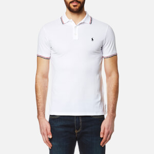 Polo Ralph Lauren Men's Tipped Polo Shirt - White
