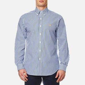 Polo Ralph Lauren Men's Slim Fit Stripe Shirt - Blue/White