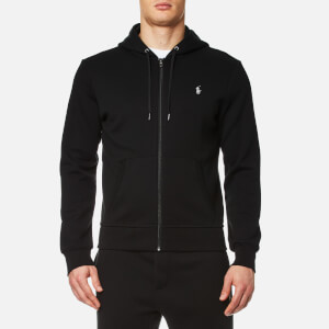 Polo Ralph Lauren Men's Double Knit Full Zip Hoodie - Polo Black