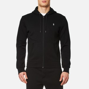 Polo Ralph Lauren Men's Double Knit Tech Zip Hoody - Black