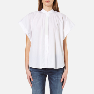 Helmut Lang Women's Short Sleeve Shirt - Optic White