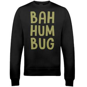 """Sudadera Navidad """"Bah Hum Bug"""" - Hombre/Mujer - Negro"""