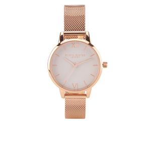 Olivia Burton Women's Rose Gold Mesh Bracelet Watch - Rose Gold