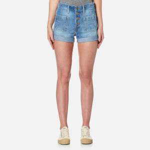Levi's Women's Orange Tab Shorts - Kerouac Effect