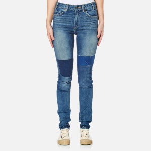 Levi's Women's Orange Tab 721 Vintage High Skinny Jeans - Courage Blue