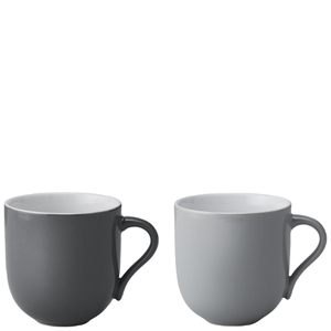 Stelton Emma Large Mug - Grey (Set of 2)