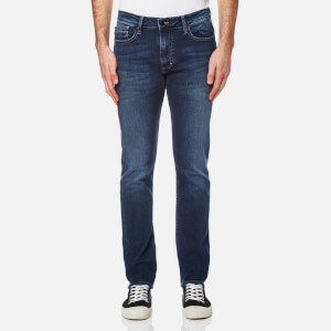Calvin Klein Men's Slim Straight Leg Jeans - True Mid Blue
