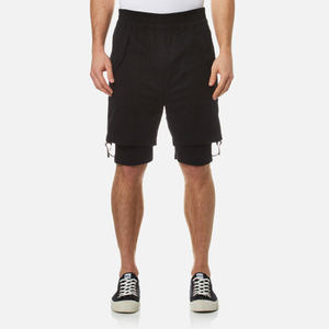 Helmut Lang Men's Double Layer Shorts - Black
