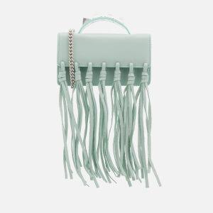 SALAR Women's Zoe Knots Bag - Sky