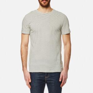 A.P.C. Men's Paul Striped T-Shirt - Ecru