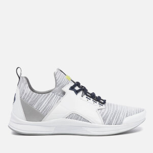 KENZO Men's Ozzy Gummy Mesh Running Trainers - White