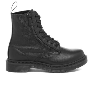 Dr. Martens Women's Pascal 8-Eye Boots with Zips - Black