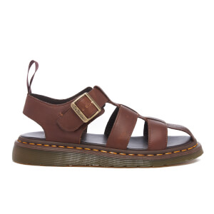 Dr. Martens Men's Fusion Galia Fisherman Sandals - Tan Carpathian
