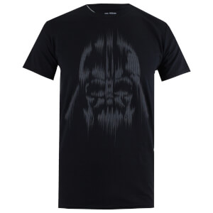 Star Wars Men's Vader Lines T-Shirt - Black