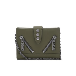 KENZO Women's Kalifornia Wallet on a Chain - Light Khaki
