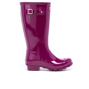 Hunter Kids' Original Gloss Wellies - Bright Violet