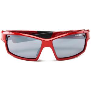 Tifosi Pro Escalate FH Interchangeable Sunglasses - Metallic Red/Clear