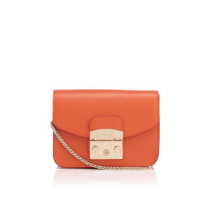 Furla Women's Metropolis Mini Cross Body Bag - Mango B