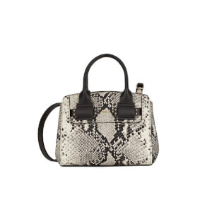 Furla Women's Lucky Mini Python Tote Bag - Roccia