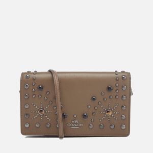 Coach Women's Foldover Cross Body Bag - Fatigue