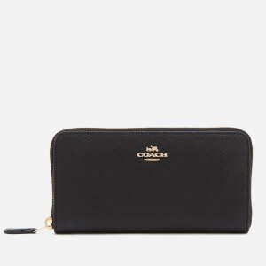 Coach Women's Accordion Zip Purse - Black