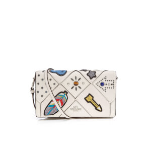 Coach Women's Foldover Cross Body Bag - Chalk