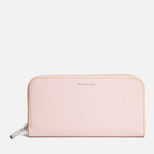 PS by Paul Smith Women's Large Zip Leather Purse - Blush