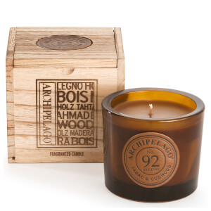 Archipelago Botanicals Wood Collection Tabac and Oud Wood Boxed Candle 207g