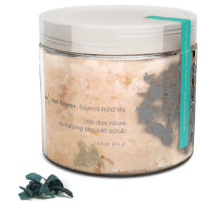 Red Flower Ocean Isla Das Rocas Revitalizing Sea Salt Scrub
