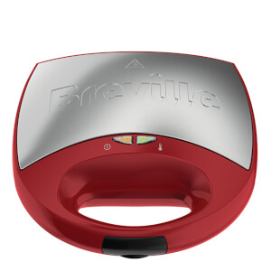 Breville VST078 DuraCeramic 2 Slice Sandwich Toaster - Red