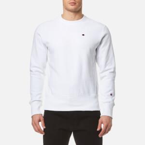 Champion Men's Crew Neck Sweatshirt - White