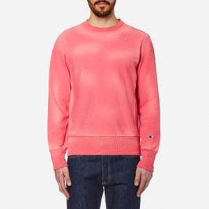 Champion Men's Crew Neck Sweatshirt - Pink