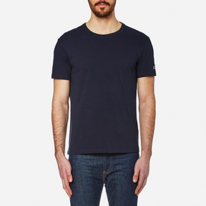 Champion Men's Crew Neck T-Shirt - Navy