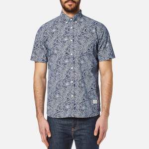 Penfield Men's Cuyler Short Sleeve Shirt - Blue