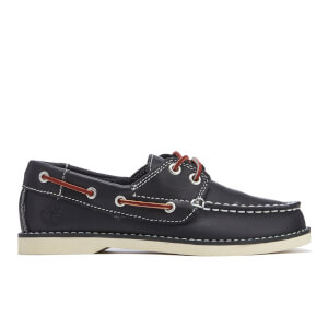 Timberland Kids' Seabury 2-Eye Boat Shoes - Navy Smooth