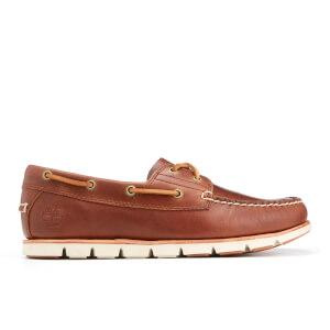 Timberland Men's Tidelands 2-Eye Boat Shoes - Sahara Brando