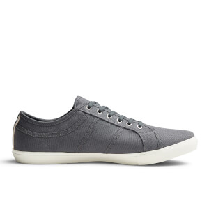 Jack & Jones Men's Ross Pre Canvas Trainers - Castlerock