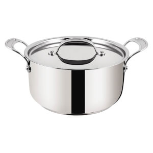 Jamie Oliver by Tefal 24cm Stainless Steel Non-Stick Stewpot with Lid