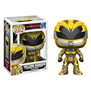 Power Rangers Movie Gelber Ranger Pop! Vinyl Figur