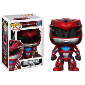 Power Rangers Movie Red Ranger Funko Pop! Vinyl