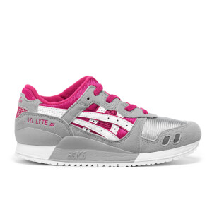 Asics Kids' Gel-Lyte III Mesh Trainers - Sport Pink/White